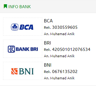 REKENING BANK LAPAKANIK